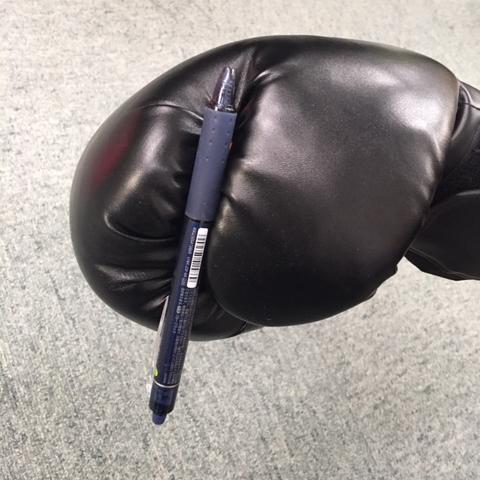 タッチペンの使用例